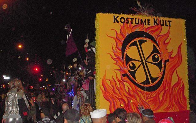 Kostume Kult's 11th annual float in the NYC Halloween Parade