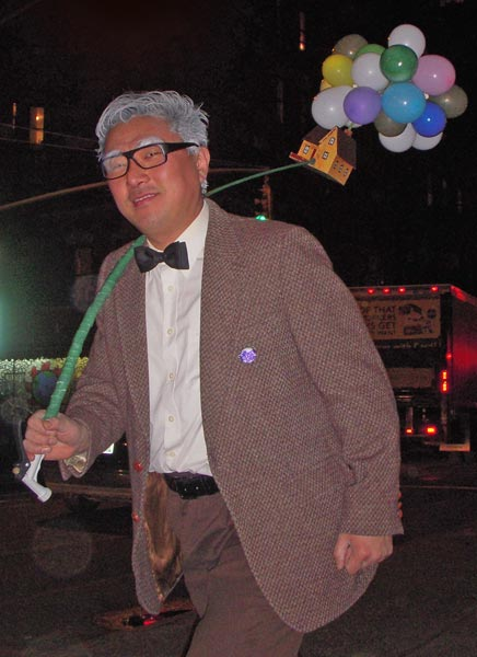 "The old guy from ""Up"" - Carl Fredricksen"