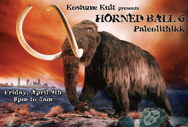 Kostume Kult's 6th Annual Horned Ball!  A Spring Bacchanal and creative community celebration where everyone wheres horns!