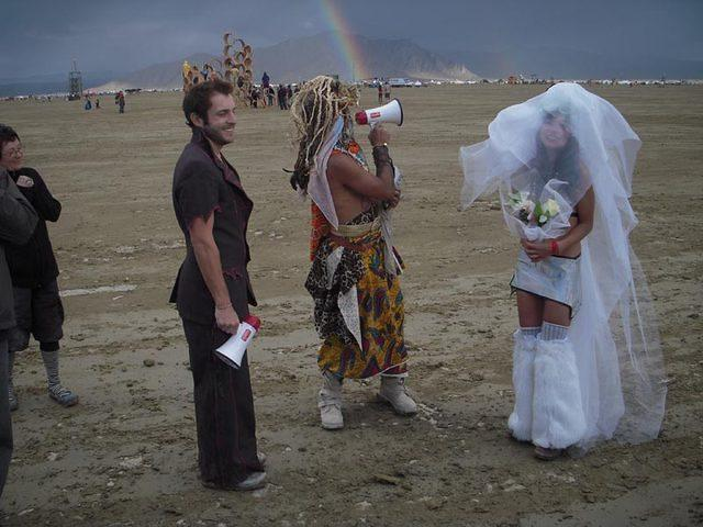 Who gets a real double rainbow at their wedding ???!!!
