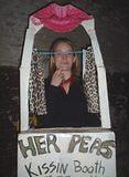 Her Peas Kissin' Booth