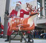 NARSLA was the North AMerican Reindeer-Santa love association.  With no reindeer available, we kidnapped bambi, tied her up anf forced her to perform...