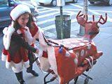 NYC Santacon, 2006 (adventures of Bondage Bambi)