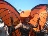Orange Butterfly - Fire Island Invasion, July 4th, 2002
