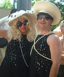 sequins & pearls - Fire Island Invasion, July 4th, 2002