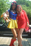 Snow White and Red Riding Hood - Fire Island Invasion, July 4th, 2002