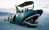 Shark Bus 2 - Burning Man 2002