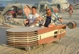 Star Wars Fighter Car - Burning Man 2002