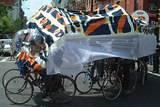 Caterpillar Bike Float 2 - Earth Celebrations' 11th annual Rites of Spring Procession