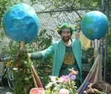 Globo Man - Earth Celebrations 11th annual Rites of Spring Procession.