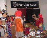Kostume Kult had a costume and facepainting booth